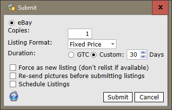 custom duration submission window